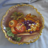 Limoges Cabinet Plate